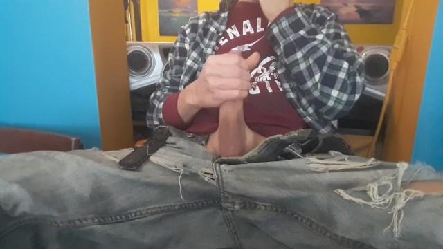 Ragazzo ben dotato che si masturbano video