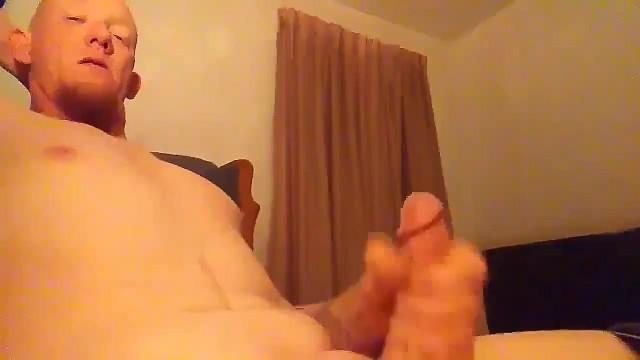 Calvo ragazzo gay video come ha battuto il suo cazzo
